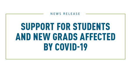 Support for Students and Recent Grads